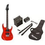 Ibanez IJRG220ZRD Electric Guitar Jumpstart Pack in Red