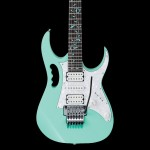 Ibanez JEM/UV Steve Vai Signature Electric Guitar in Sea Foam Green