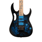 Ibanez JEM77PBFP Steve Vai Signature Jem Electric Guitar in Blue Floral