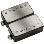 EMG JH James Hetfield Humbucker Set - Brushed Black Chrome