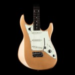 Line 6 Variax JTV69 STRAT-Style Gold Metallic Electric Guitar