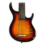 Kala SUB Series Solid Body UBass Fretted in Sunburst Finish