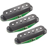 Fluence Single Width Pickups for Strat®, Set of 3, Black