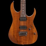 Ibanez RG Prestige Series RG652KFX Electric Guitar Koa Brown