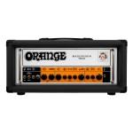 Orange Rockerverb 50 Mk III - 50-Watt Twin-Channel Tube Head Black