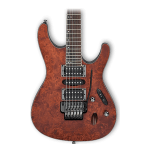 Ibanez S770PBCNF Electric Guitar - Charcoal Brown