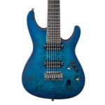 Ibanez S7721PBSBF 7 String Electric Guitar - Sapphire Blue