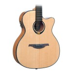Lag T80ACE Acoustic-Electric Solid Spruce Top Guitar - Natural