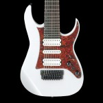 Ibanez TAM10WH Tosin Abasi Signature 8 String Signature Electric Guitar White