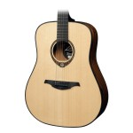 Lag TSE701D Limited Edition Dreadnought Natural w/ Case