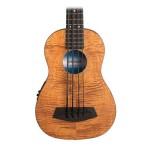 """Kala U Bass 20"""" Scale Bass Ukulele Exotic Mahogany with EQ and Bag"""