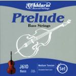 D'Addario J610 Prelude Bass 3/4 Scale String Set