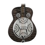 Dean RESQMTBK Resonator Spider Quilted Maple Transparent Black Guitar