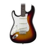 Fender American Vintage '65 Stratocaster Left-Handed Guitar in 3-Tone Sunburst