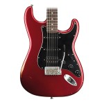 Fender Road Worn Player Strat HSS RW Guitar in Candy Apple Red