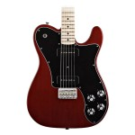 Fender Classic Player Telecaster Deluxe Black Dove in Crimson Red