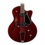 Godin 5th Avenue Kingpin 2 CW Cutaway in Burgundy Finish