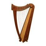 Mid East HBLAZT Rooseback Balladeer Celtic Harp 22 Strings