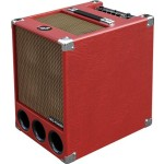 Phil Jones Super FlightCase Bass Amp 250W 6x5 Speakers in Red