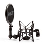 Rode SM6 Shockmount for NT1A Microphone w/ Pop Filter
