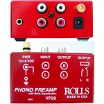 Rolls VP29 Vinyl Turntable Phono Preamp