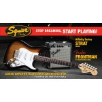 Squier By Fender Affinity Stratocaster Guitar Pack In Brown Sunburst with Amp