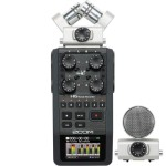Zoom H6 Handy Recorder with Gator Waterproof Case
