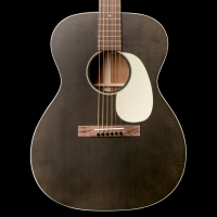 Martin 00-17S 17-Series Acoustic Guitar Black Smoke w/ Case
