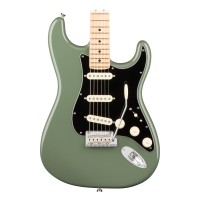 Fender American Professional Stratocaster, Maple Fingerboard - Antique Olive