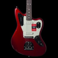 Fender American Professional Jaguar Electric Guitar in Candy Apple Red w/ Case