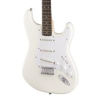 Fender Squier Bullet Strat HT - Arctic White with Indian Laurel Fingerboard