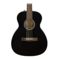 Fender CT-60S Acoustic Guitar - Travel BODY-Style - Black Finish