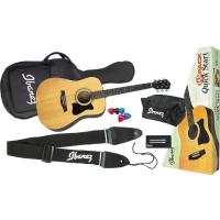 Ibanez IJV50 Quickstart Jampack Acoustic Guitar Bundle