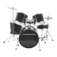 DrumFire DK7500-GB 5-Piece Drumset in Gloss Black