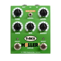 T Rex Moller 2 Classic Overdrive Pedal w/ Clean Boost