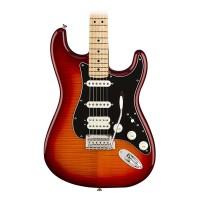 Fender Player Stratocaster HSS - Maple Fingerboard - Aged Cherry Burst, Plus Top