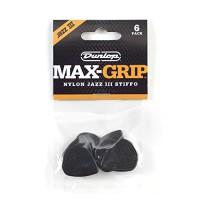 Dunlop 471P3S Max-Grip® Jazz III, Black