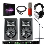 Universal Audio Apollo 8 Duo, Avantone CK6, LSR305 Pair and Pro Tools Bundle