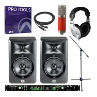Universal Audio Apollo 8 Duo, Avantone CK6 Classic, LSR305 Pair & Pro Tools