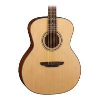 Luna ART RECORDER Acoustic-Electric Guitar, Natural