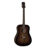 Luna Art VINTAGE-Style Dreadnought Acoustic Solid Top Guitar