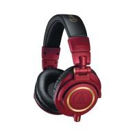 Audio-Technica ATH-M50xRD Professional Studio Monitor Headphones