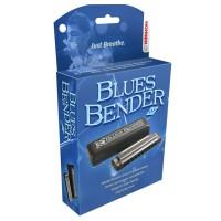 Hohner Blues Bender Harmonica, Key of B Flat (Bb)