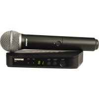 Shure BLX24 / PG58 Wireless System w/ PG58 Mic Frequency H9