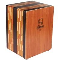 A Tempo Percussion El Artesano CJELART01 Cajon with Free Bag