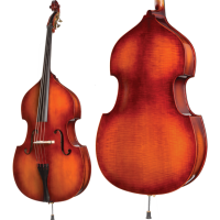 Howard Core Model A40 3/4 Upright Bass Outfit
