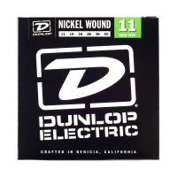 Dunlop DEN1150 Nickel Wound Electric Guitar Strings, Medium/Heavy
