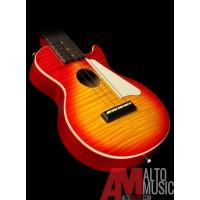Epiphone Les Paul Acoustic/Elec Ukulele in Heritage Cherry Sunburst