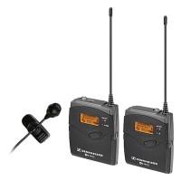 Sennheiser Ew 122-P G3 Camera Mount Wireless Mic System W/ME 4 Lav Mic - A1
