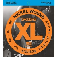 D'Addario EXL160S Nickel Wound Bass Strings